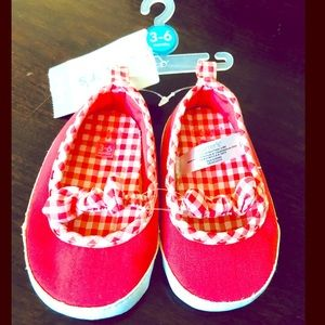 NWT Carter's Mary Jane Baby Shoes: 3-6 months